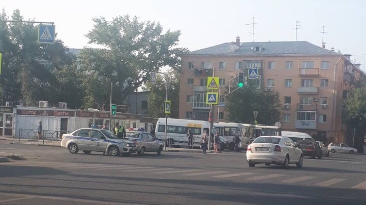 В Самаре правоохранители перекрыли движение возле ЦУМа
