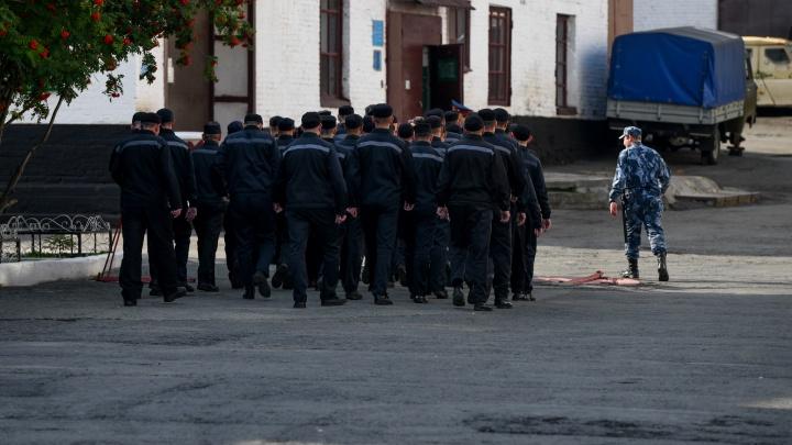 Заключенные, порезавшие себя в колонии в Екатеринбурге, извинились перед начальником