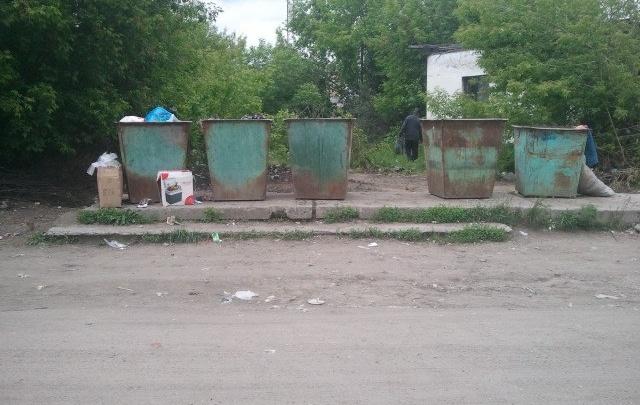 Катайского предпринимателя оштрафовали за ликвидацию мусорных контейнеров