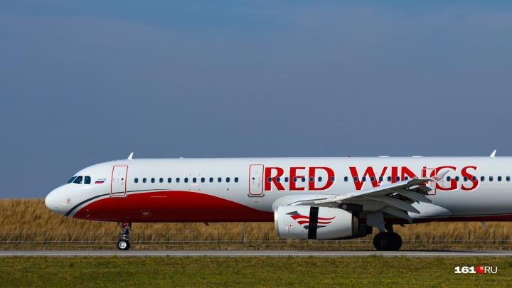 Самолет, летевший из Москвы в Ереван, совершил вынужденную посадку в Ростове-на-Дону