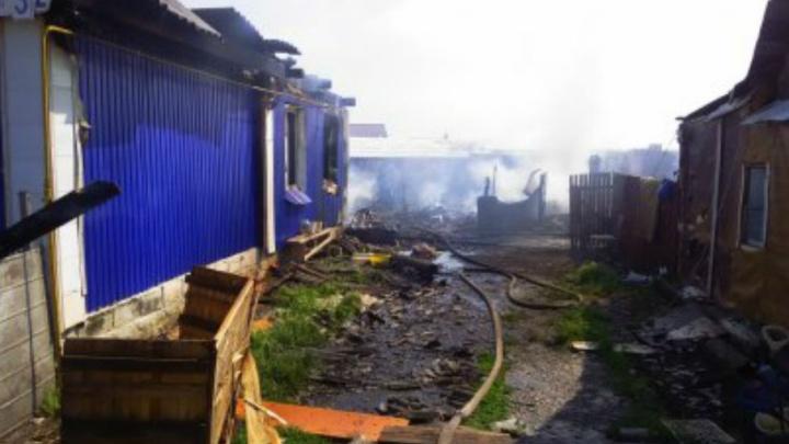 Страшный пожар в Башкирии: без крыши над головой осталась многодетная семья