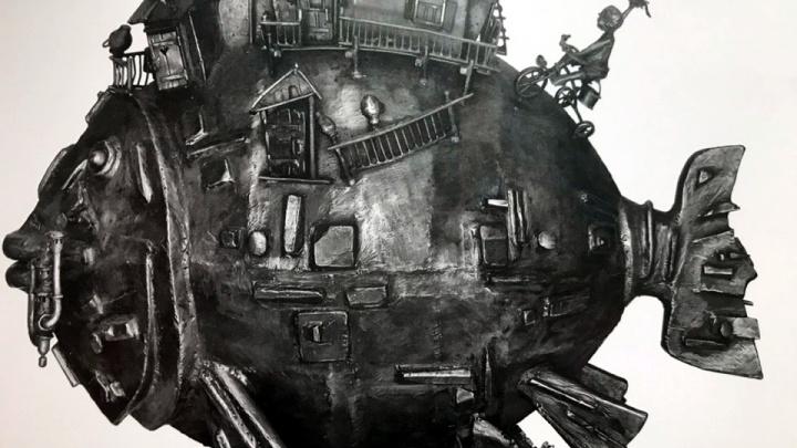 «Уплыл по лужам»: скульптуру «Коммунального карася» установили у арт-центра в Краснодаре