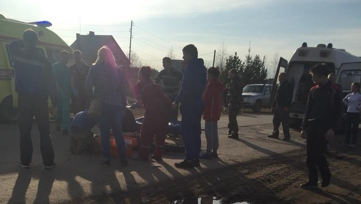 В Пермском районе мотоциклист сбил 15-летнего школьника