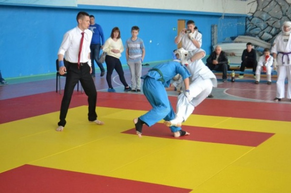 Федерация кудо организует турниры среди школьников уже много лет