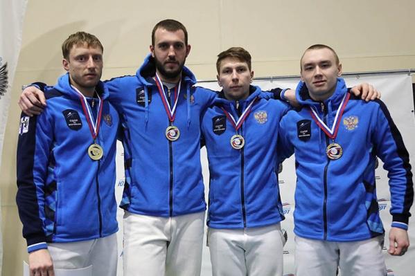 Вениамин Решетников, Никита Проскура, Анатолий Костенко и Артём Целышев стали чемпионами России