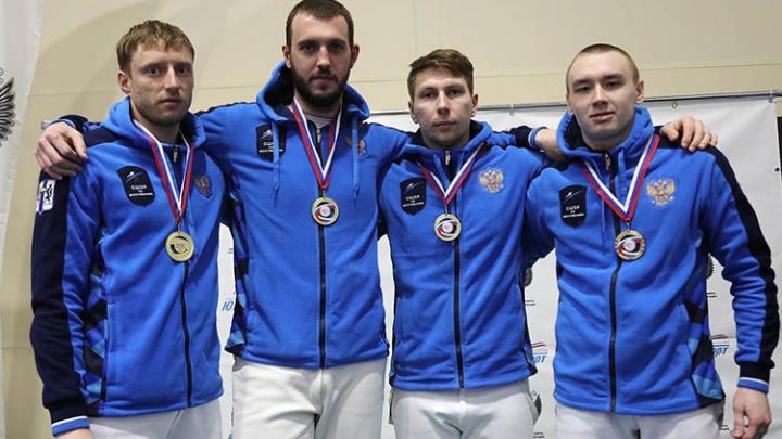 Сделали москвичей: саблисты из Новосибирска стали чемпионами России в Сочи