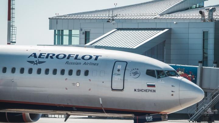 В Ростове самолет совершил экстренную посадку из-за смерти пассажира