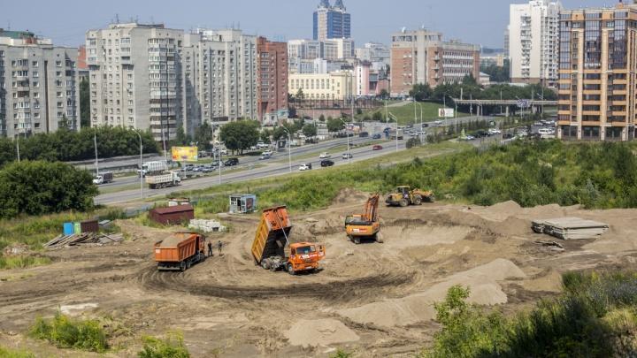 На пустыре около «Спортмастера» на Ипподромской начали строить жилые высотки