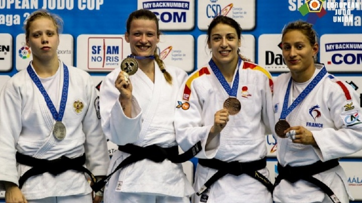 Екатеринбургская спортсменка завоевала серебро на Кубке Европы по дзюдо в Испании