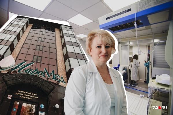 Экскурсию по роддому«МироМед»журналистам 72.RU провела главный врач и по совместительству врач акушер-гинеколог Светлана ЕвгеньевнаДудич