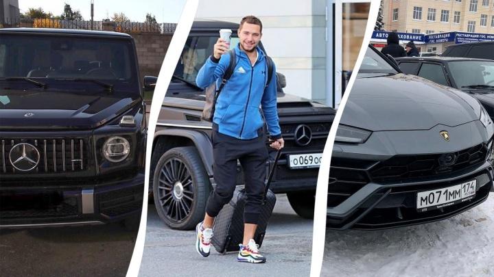 Дорого-богато: рассматриваем автомобили звезд хоккейного клуба «Салават Юлаев»