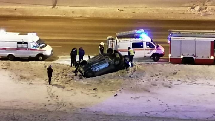«Минус новая SKODA»: челябинец устроил двойное ДТП, протаранив новый автомобиль ДПС