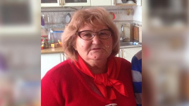 В Батайске разыскивают 72-летнюю женщину