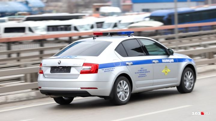 В Ростове столкнулись две маршрутки