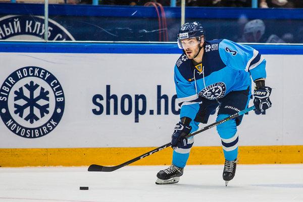 Хоккейная «Сибирь» избавилась от легионера из Франции