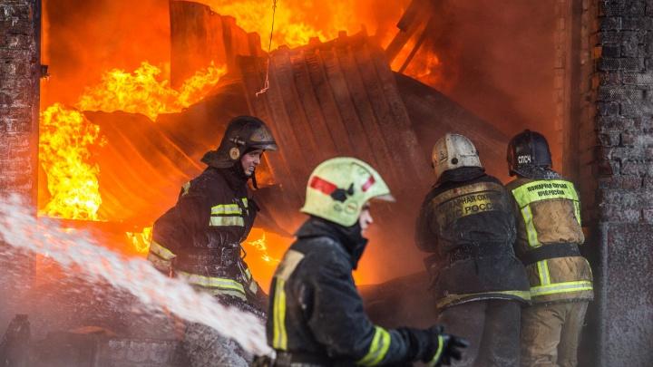 Двое детей погибли при пожаре в Новосибирской области