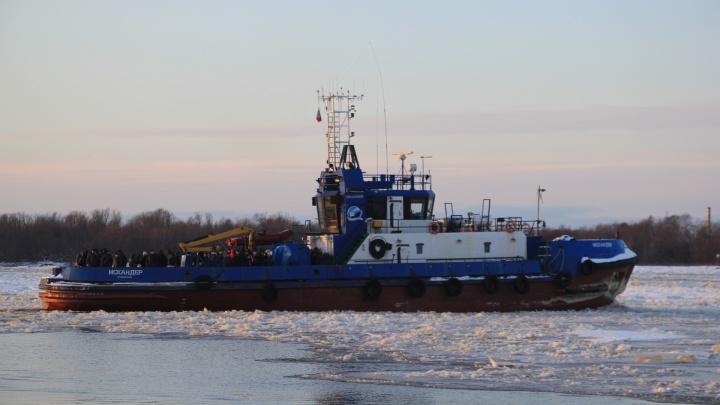На островные территории Архангельска начинают ходить ледокольные буксиры: изучаем расписание