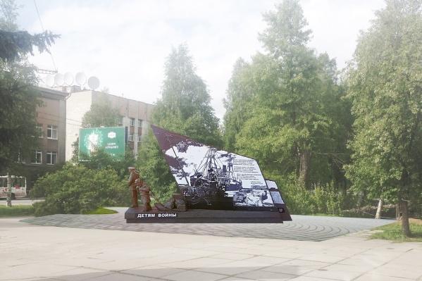 Памятник хотят установить рядом с заросшим пустырём