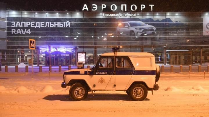 Ложная тревога: в Екатеринбурге из-за звонка о минировании проверяли самолёт в Кольцово