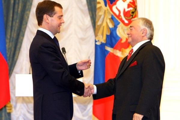 Роман Карцев был народным артистом России