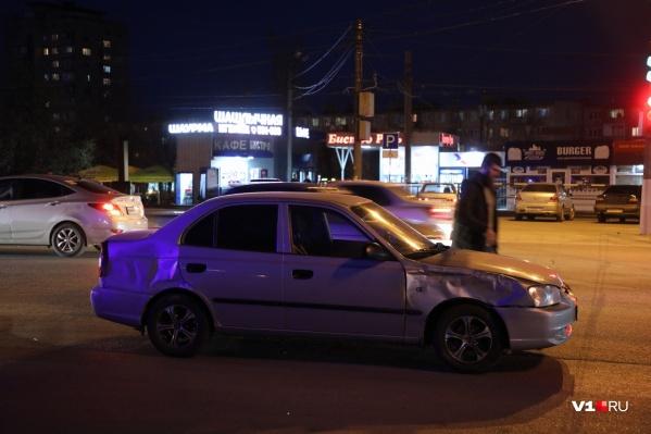Халидов находился за рулем Hyundai Accent в момент аварии и сам не пострадал