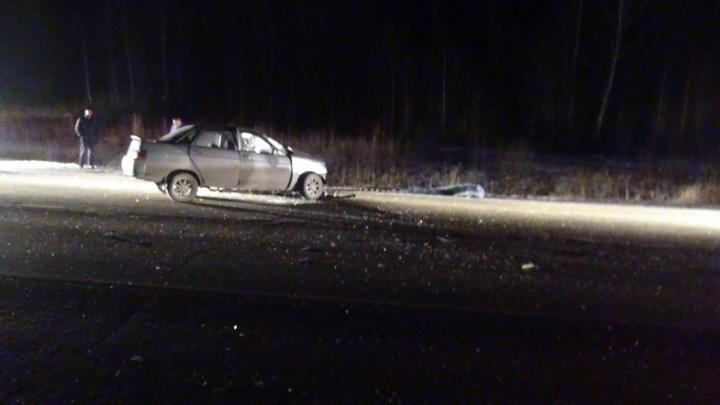 На Серовском тракте 63-летний водитель без прав устроил смертельное ДТП