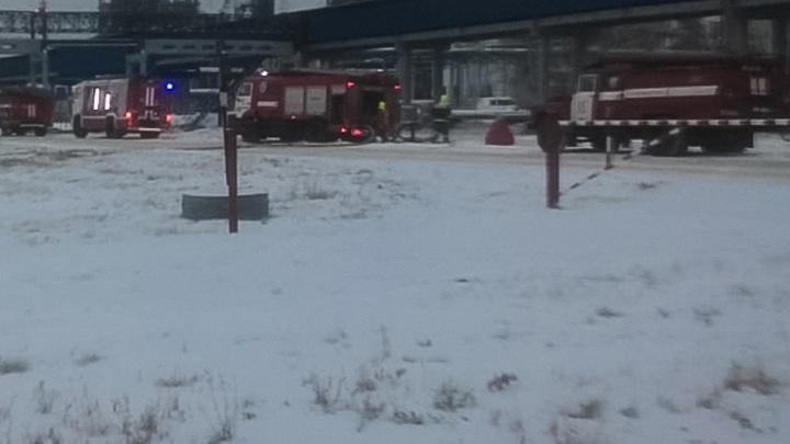 Спасатели рассказали о том, как тушили пожар на омском нефтезаводе