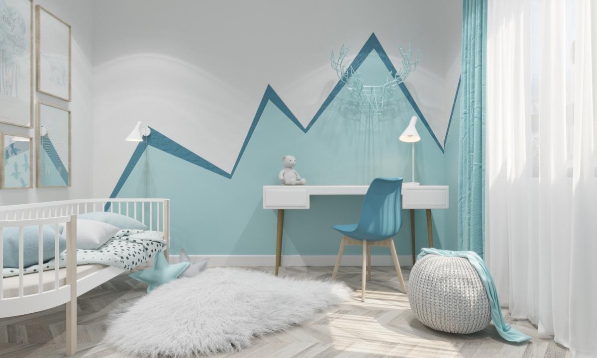 Так выглядит будущая детская в квартире в ЖК «Восход»