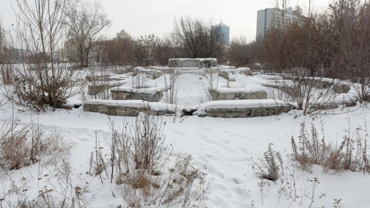 За «Сад камней» в центре Челябинска планируют взяться после строительства метро