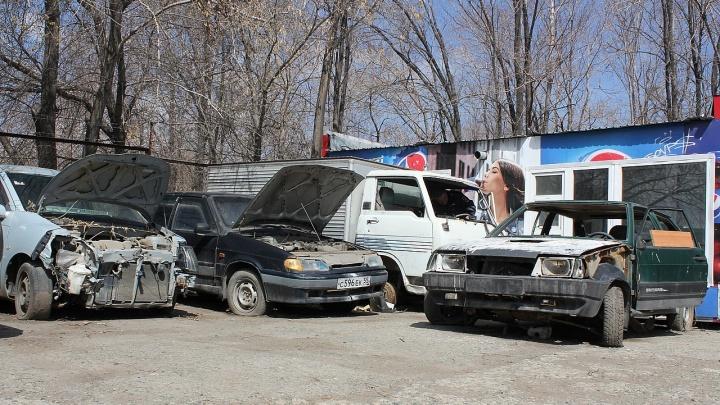 В Волгограде обнаружили всего четыре действующих штрафстоянки