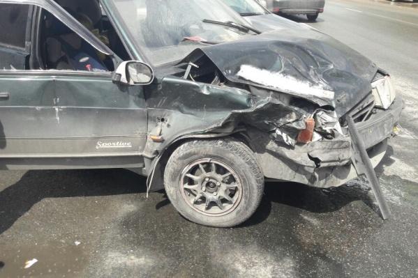 Сильнее всего в аварии оказалась повреждена «Лада»