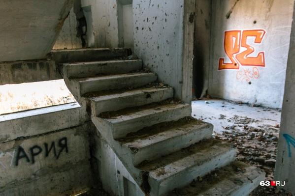 Заброшенные дома для Самары, к сожалению, пока не редкость