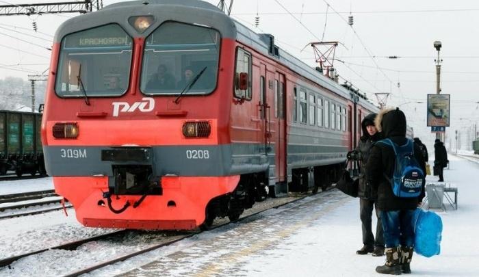 Общественник объяснил, почему красноярцы игнорируют электрички и продолжают ездить в автобусах