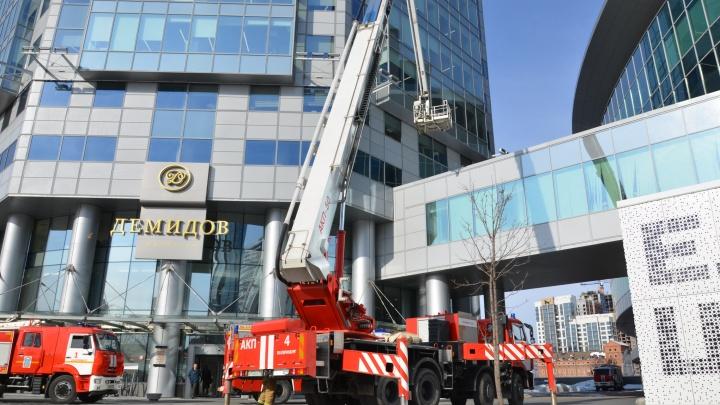 На 30-м этаже «загорелось» кафе: спасатели рассказали, как эвакуировали бизнес-центр «Демидов»
