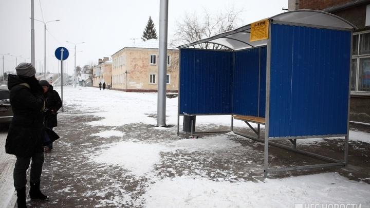 Омские власти решили обустроить 39 новых остановок