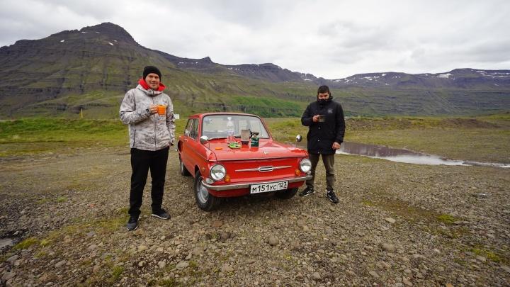 К ледникам, гейзерам и вулканическим пляжам: челябинцы отправились в Исландию на «Запорожце»