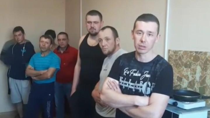 Вахтовики из Башкирии, которые устроили забастовку в Приморье, говорят, что им не выдали зарплату