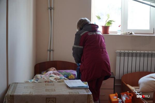 Все постояльцы приюта истощены и обезвожены, им нужна помощь медиков