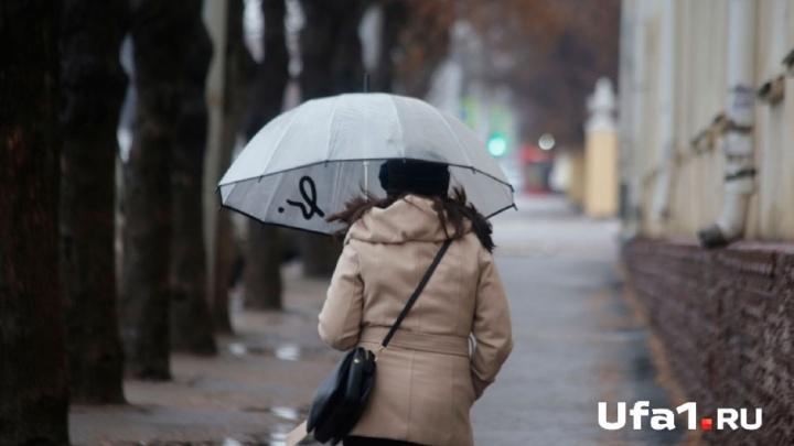 Тепло отменяется: в Башкирии пройдёт снег с дождём