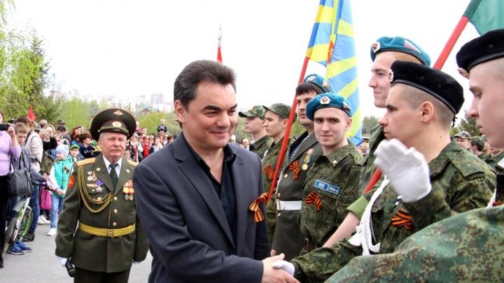 День Победы на Кашкадане в Уфе: военная техника, полевая каша и Ирек Ялалов