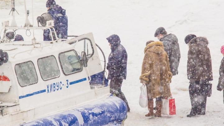 В Самаре изменили расписание движения амфибийных катеров до Рождествено