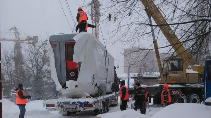 Уфимской детской железной дороге подарили новые вагоны
