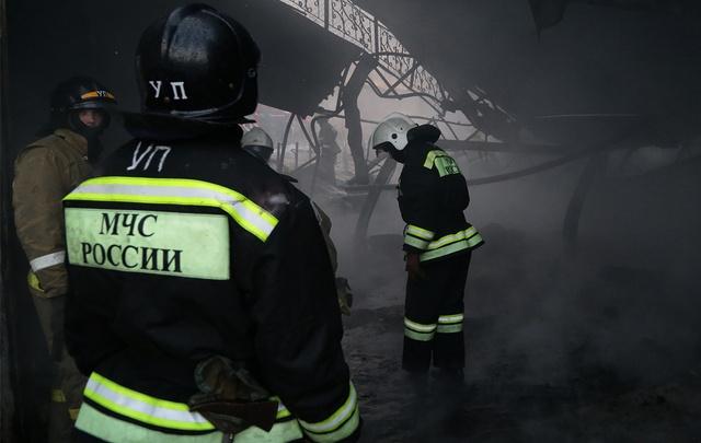 В Башкирии в пожаре погибла пожилая семейная пара