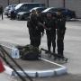 Подготовка к концерту, вооружённая полиция, предвыборные плакаты: Магнитогорск ждёт Путина