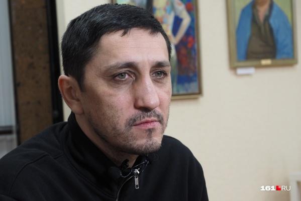 Поэт Олег Груз