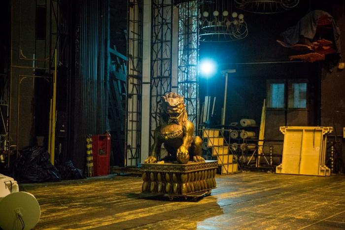 На складе будут хранить декорации со спектаклей, которые в оперном уже не идут