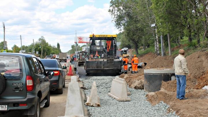 В Самаре частично перекроют движение на Красноглинском шоссе