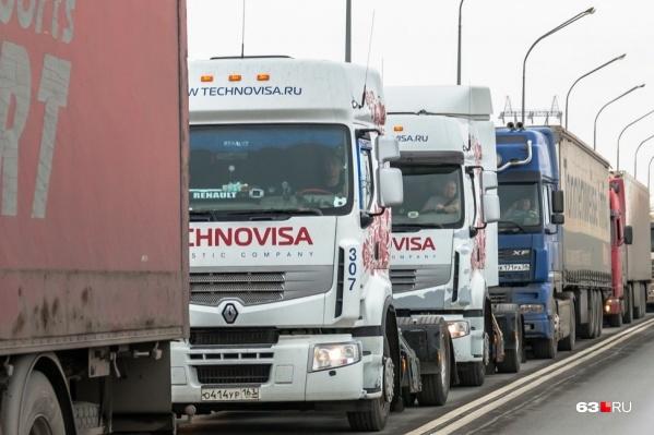 Водителям придется проезжать перекрытые участи по очереди