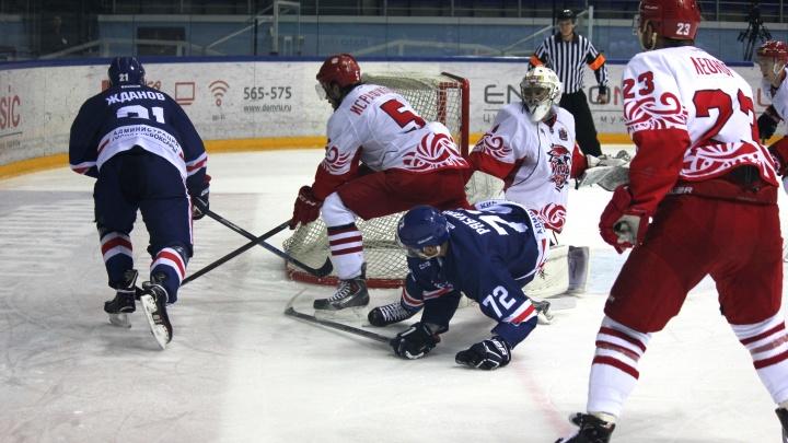 Хоккейный клуб «Ростов» на выезде всухую обыграл «Челны»