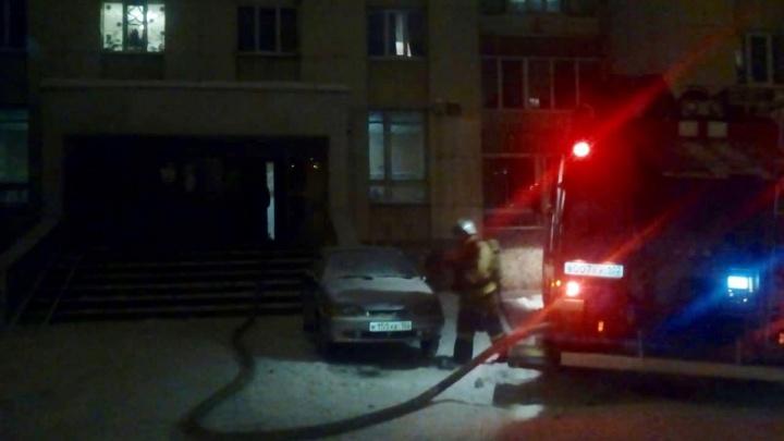 В Уфе сгорела квартира в многоэтажке: есть пострадавшие